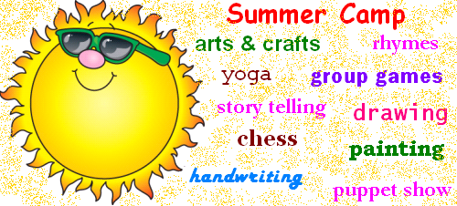 Summer Classes for Kids in Adambakkam, Velachery, Guinday, Madipakkam